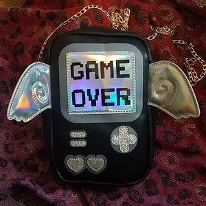 Handbags - Gameboy Game Over Crossbody